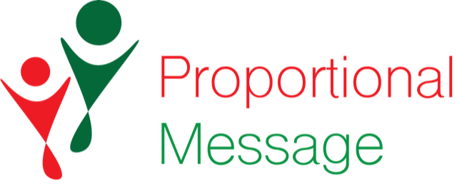Proportional Message